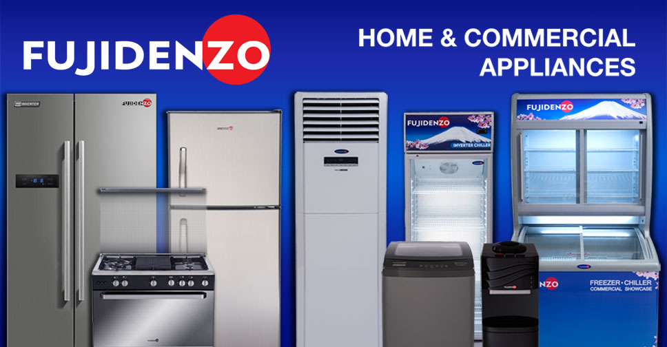 Fujidenzo Upright Freezers